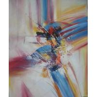 Buy cheap Sample Paintings modern abstract acrylic painting on canvas from wholesalers