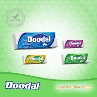 Buy cheap Doodal sugar free Chewing gum double layer 10's package from wholesalers