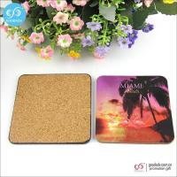 Products 10*10cm MDF mats custom printed blank beer coasters cork coasters