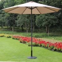 Buy cheap Prime Garden 9-foot Market Umbrella with Polyester Cover- Brown,8 Ribs from wholesalers