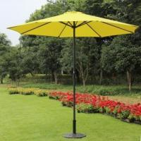 Buy cheap Prime Garden 9-foot Market Umbrella with Polyester Cover -Yellow,8 Ribs from wholesalers