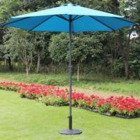 Buy cheap Prime Garden 9-foot Market Umbrella with Polyester Cover-blue,8 Ribs from wholesalers