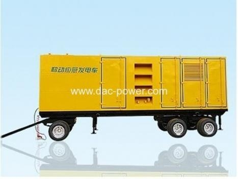 Quality Diesel Generator Sets Mobile Power Station 20KW-2000KW for sale