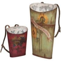 Buy cheap Tin Wine Baskets from wholesalers