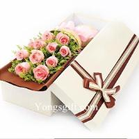 Buy cheap 11 Pink Rose Gift Box from wholesalers
