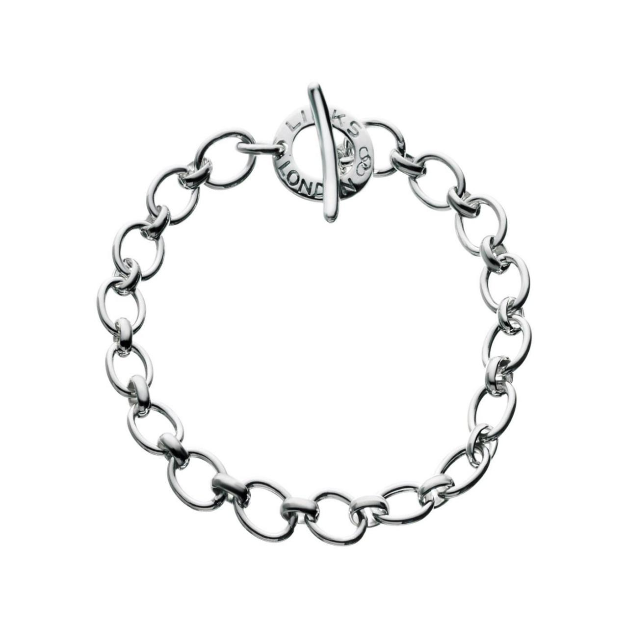 Buy cheap WOMEN Classic Sterling Silver Charm Bracelet from wholesalers