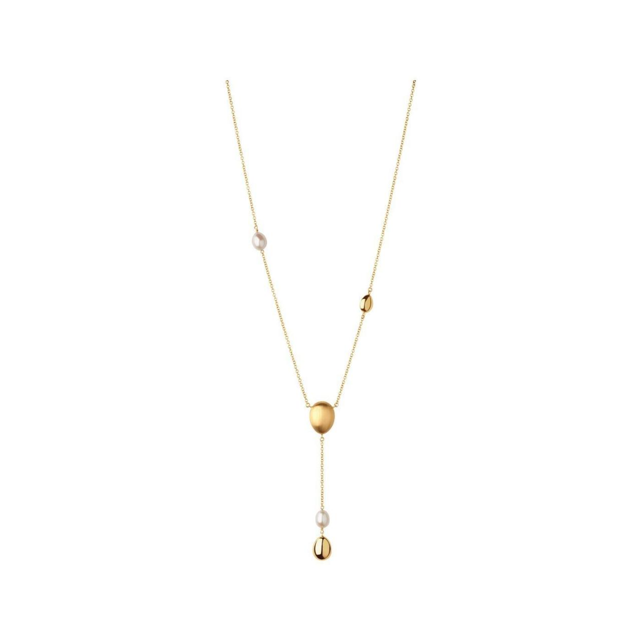 Buy cheap Hope 18kt Yellow Gold & Pearl Lariat Necklace from wholesalers