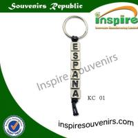 Buy cheap Fashion alphabet bea... Souvenir keychain from wholesalers