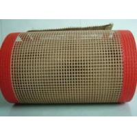 Buy cheap High temperature resistance PTFE coated conveyor dryer belt from wholesalers