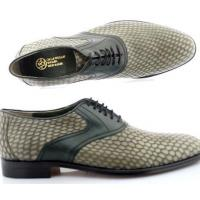 Buy cheap Derbys Men Luxury Snake Embossed Leather Shoes(Buckingham) from wholesalers