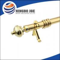 Buy cheap 35mm Golden Cheap Iron Curtain poles from wholesalers