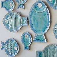 Wholesale Blue Fish Plates from china suppliers