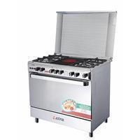 Buy cheap 5 burner 90*60 electic and gas oven FREE STANDING COOKENS from wholesalers