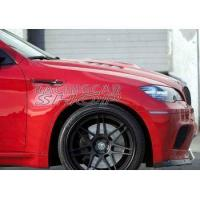 Buy cheap BMW Replacement ABS MATT Black Fender Gills for E71 X6M 2008UP from wholesalers