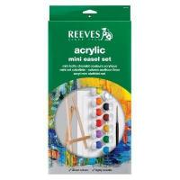 Buy cheap Reeves Reeves Mini Easel Acrylic Set from wholesalers