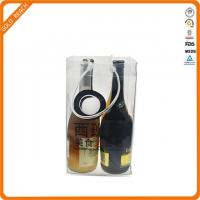 Buy cheap Wholesale Resuable Promotional PVC Wine Glass Carrier Bag from wholesalers