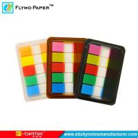 Buy cheap Plastic Sticky Note,Colorful PET Page Marker,Adhesive Sticky Note from wholesalers