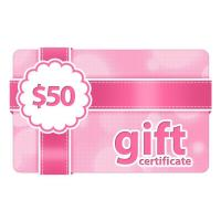Buy cheap $50 Gift Certificate from wholesalers