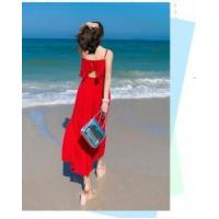 Wholesale Hot Women's Open Back Wide Legs Chiffon Holiday Jumpsuit Overall Pants from china suppliers