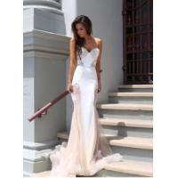 Wholesale Fashion Women Lace Mermaid Sweetheart Court Train Evening Party Dress from china suppliers
