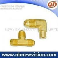 Buy cheap Brass Fitting Hot Forging Brass Flare Fittings - Tee & Elbow from wholesalers