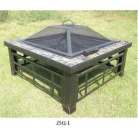 Buy cheap Square Outdoor Backyard Patio Metal Firepit from wholesalers