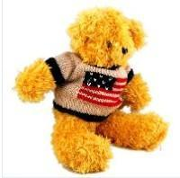 Buy cheap Teddy Bear plush bear with coat from wholesalers