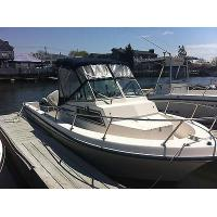 Buy cheap 1985 Grady White 204c Weekender Fishing Boat With Johnson Outboard Motor starting bid$ 7,500 from wholesalers