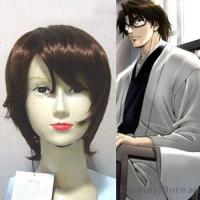 China Bleach Sousuke Aizen Cosplay Wig 2011 on sale