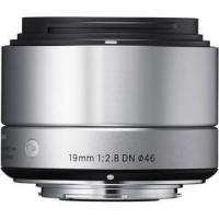 Buy cheap Sigma 19mm f/2.8 DN Lens Micro Four Thirds - Silver from wholesalers