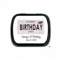 Buy cheap Adult Birthday Party Favors Mint Tins from wholesalers