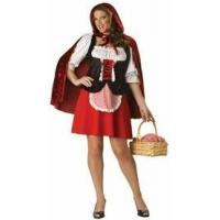 Buy cheap Red Riding Hood Plus Size Adult Costume from wholesalers