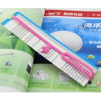 Wholesale silicone book mark from china suppliers