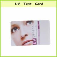 Buy cheap UTS-010 UV Color Change Card from wholesalers