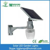 China 6w LED Solar Powered Garden Lights / LED Street Lighting Fixtures with Intelligent Remote Controller on sale