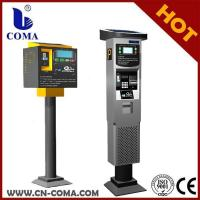 Buy cheap Solar power parking meter can accept coin and bill from wholesalers