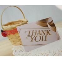 Wholesale gift card,thank you card,greeting card from china suppliers
