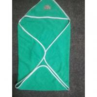 Buy cheap 100% zero twister terry baby hooded towel from wholesalers