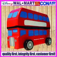 Wholesale Wooden Toy UK Bus from china suppliers