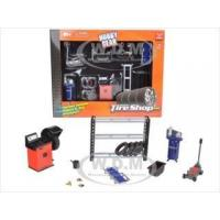 China Tire Repair Shop Accessories Set Ford 1/24 Diecast Model Cars by Phoenix Toys on sale