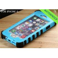 Buy cheap Waterproof dirtproof full case cover for iphone 6 wholesale from wholesalers