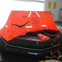 Buy cheap Throw Over Board Inflatable Liferaft EC product
