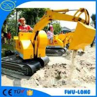 Buy cheap Kids Amusement Park Attractive kids digger for kids coin operating from wholesalers
