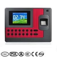Buy cheap Economical TFT Screen LINUX TCP/IP WIFI Fingerprint Employee Attendance Tracking Machine from wholesalers