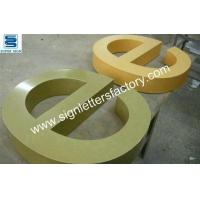 Wholesale powder coating aluminum letter sign 05 from china suppliers