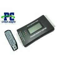 Buy cheap PC power supply tester with LCD in plastic case from wholesalers