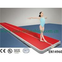 China Customized Double Wall Fabric Gym Air Track Mat for Sale on sale