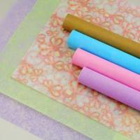 Non-woven flower wrapping roll