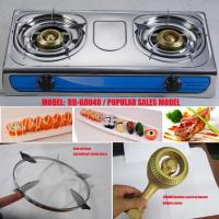 Buy cheap table top gas cooker double burner gas hob beehive burner (RD-GD048) from wholesalers