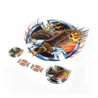 China Flame Eagle Sticker/Decal Set For Motorcycle Motorbike on sale